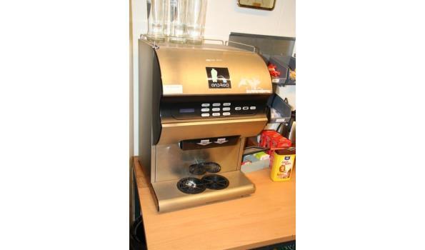 Koffieautomaat met diverse koffiekeuzes