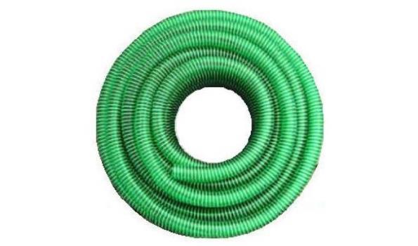 Zuig-/Pers-/Vijverslang 32 mm inw groen-zwarte spiraal