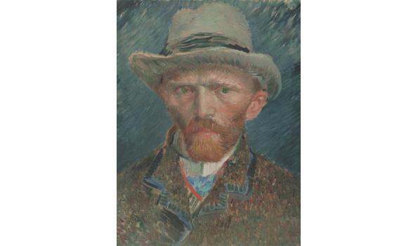 Zelfportret van Vincent van Gogh op forex, 100cm