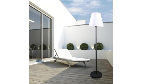 LED Terraslamp, staand model op voet