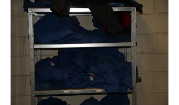 Partij werkkleding o.a. diverse overalls