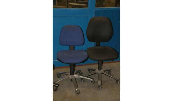Bureaustoelen - 3 stuks