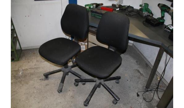 Bureaustoelen - 2 stuks