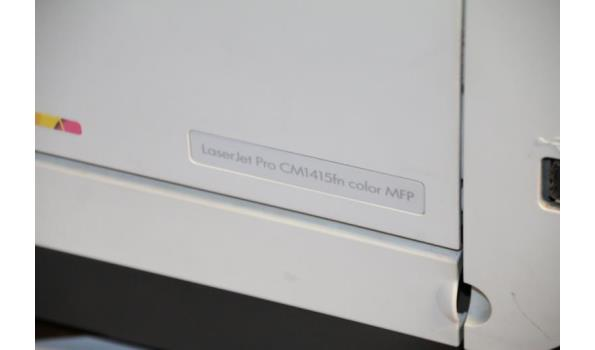 HP printer/scanner - Laserjet Pro CM1415FN color MFP