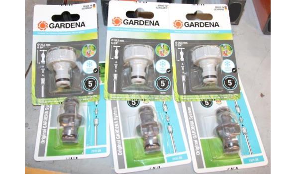Gardena kraanverbindingsstukken Ø 26,5mm & koppelingen