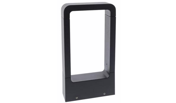 HQ LED Outdoor Wall Light 6 W 120 lm Black - 2 stuks
