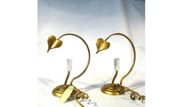 Hanglamp met 2 wandlampen