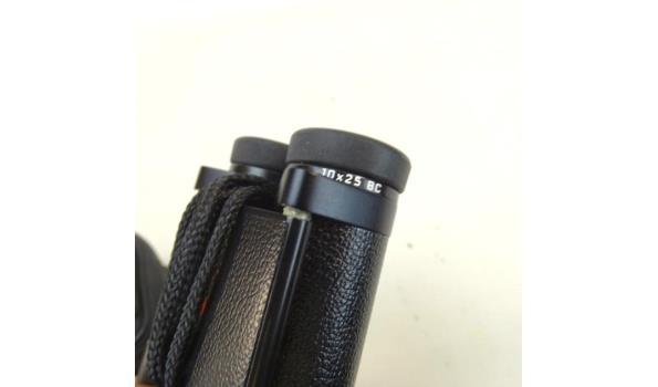 Leica verrekijker in zachtlederen etui