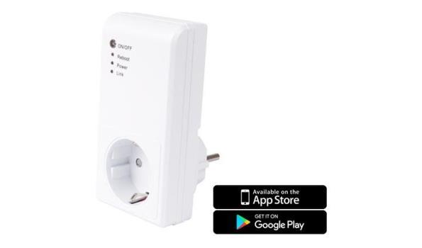 Wifi stopcontact, App bediening op de telefoon, 2x