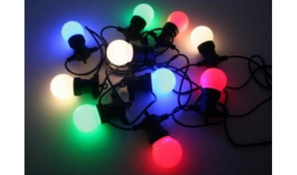 Partyverlichting LED, mulit color, 4x