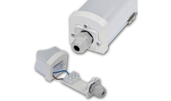 LED Balk Elegant met Spatwaterdicht armatuur 60cm, 6x