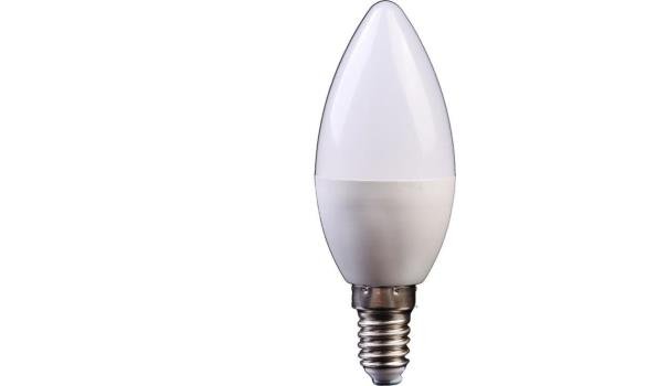 LED lamp E14, 3 watt, warmwit, 10x