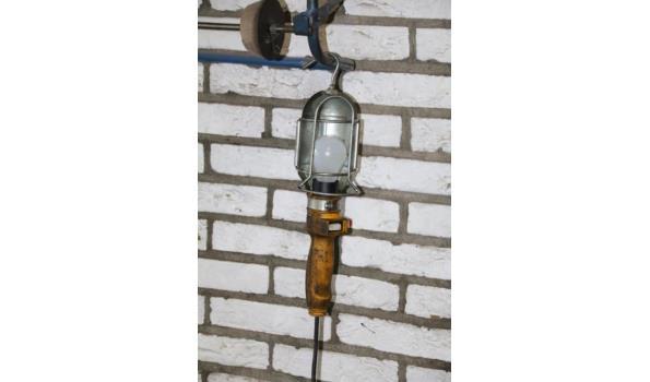 Rolhouder en looplamp