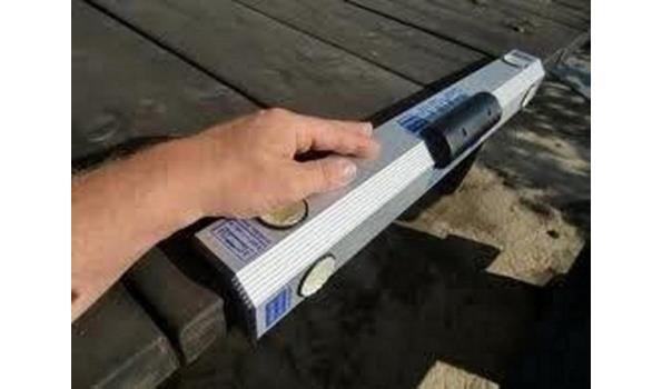 Aluminium hoekwaterpas 600 mm