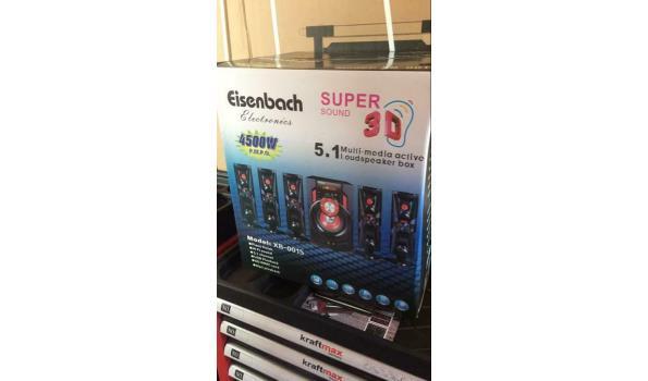 Eisenbach 5.1 Multimedia speakerset