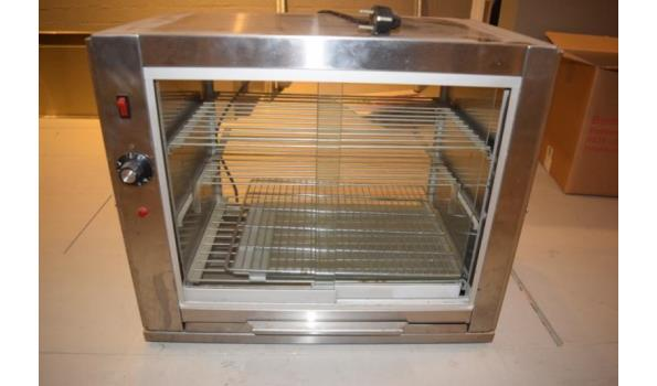 Chergui warmhoudvitrine type CR2