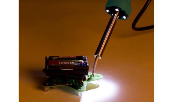 Soldeerbout met LED verlichting