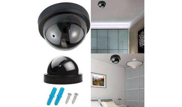Beveiligingscamera Dome met sensor, dummy, Led 6x