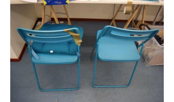 Partij diversen o.a. tafel, kast & stoelen
