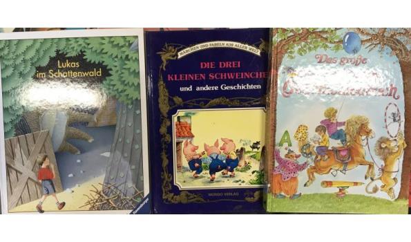 Kinderboeken Duits 40 stuks