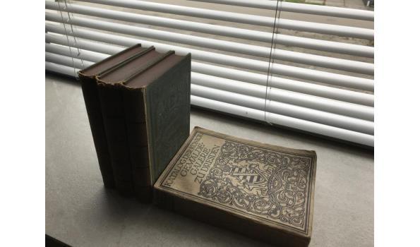 Boeken antiek 4 stuks