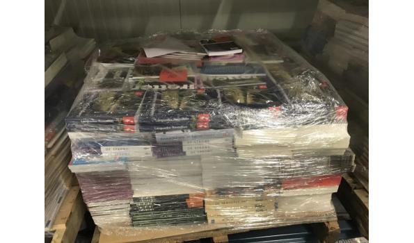 Pallet met 500 nieuwe boeken