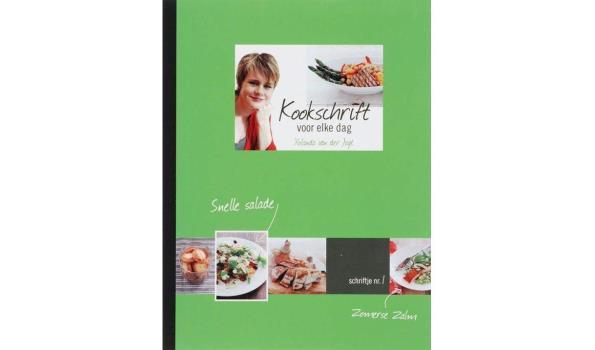 Kookboeken 5 stuks, alles nieuw