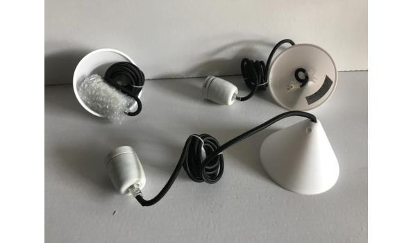 Hanglamp Corda met strijkijzersnoer, 10 stuks