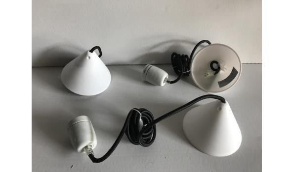 Hanglamp Corda met strijkijzersnoer, 45 stuks