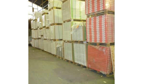 Laminaat vloer eiken design 81,75 m2 28 pak met ondervloer