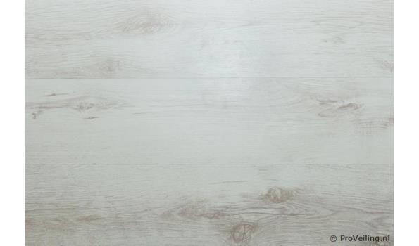 Laminaat vloer eiken design 40,9 m2 14 pak met ondervloer