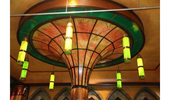 Decoratie pilaar geschatte hoogte ca. 4 meter