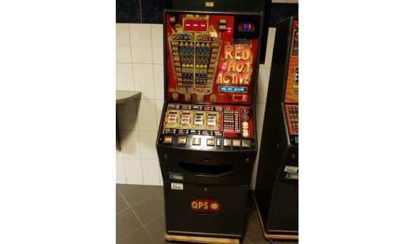 Red Hot Active gokkast - met nieuwe sloten, sleutels en meters