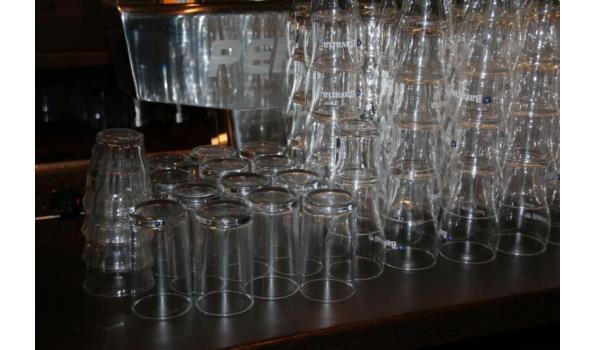 Partij bier & frisdrankglazen