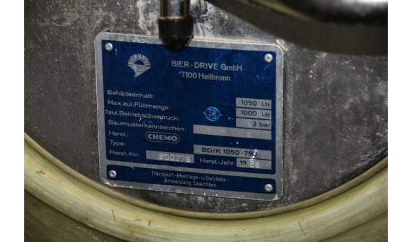 Bierdrive incl. luchtslangen en drukmeters