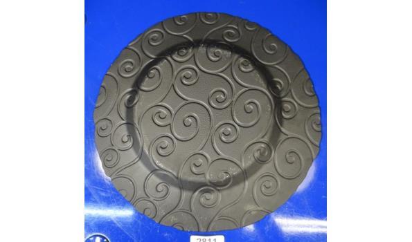 Design geglazuurd aardewerk schotel