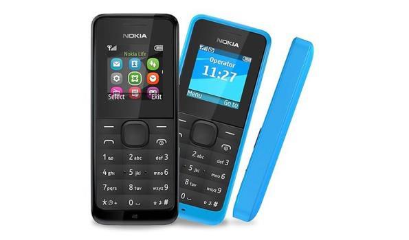 Nokia 105 - Blauw (Dual Sim)