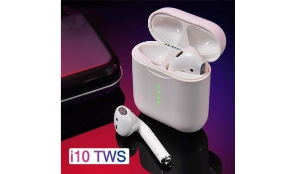 i10 - Qi Draadloos Laden - Wit (Nieuw model)