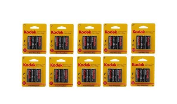 Batterijen Kodak 1,5v