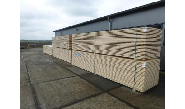 Steigerplanken/steigerhout 250 cm 20 x 200 mm