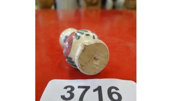 Miniatuur aardewerk vaas