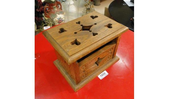 Kerfsnee houten stoof