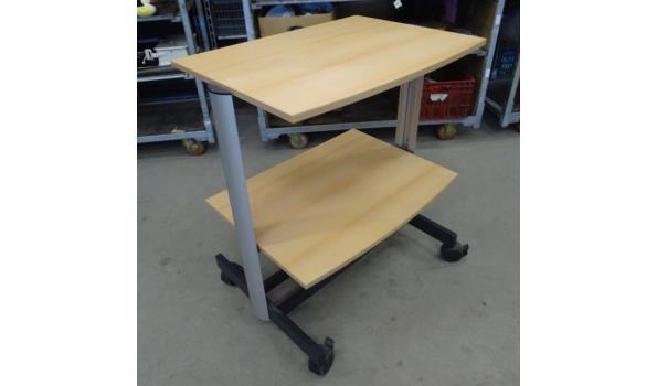 Mobiele Projecta computertafel
