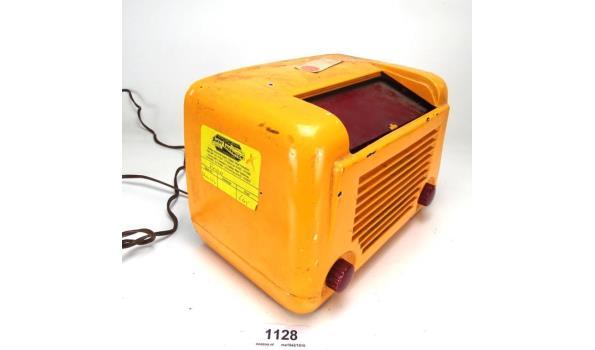Vintage Andy Thornton kunststof radio