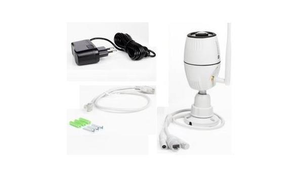Wifi IP Camera met nachtzicht, bi/bu