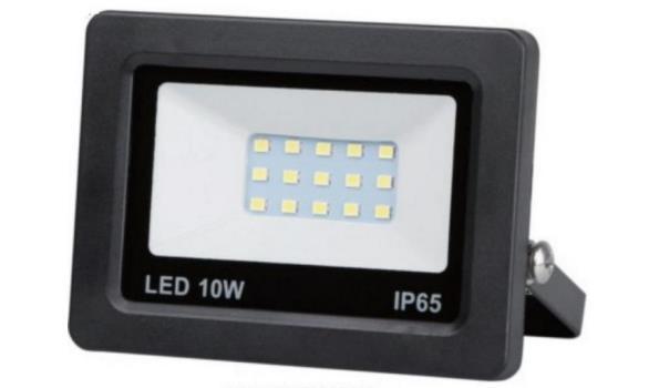 LED straler 20 watt, 10x