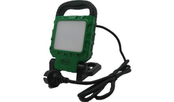LED Werklamp, 220 Volt, 10 watt, 2x