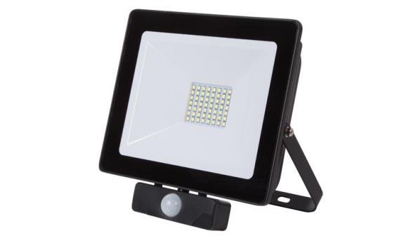 LED STRALER PROFI 50 W, met bewegingsmelder 2x