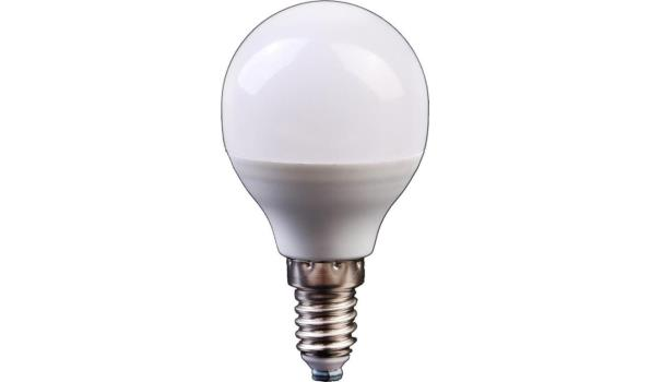 LED lamp E14, 3 watt, warmwit, 10x