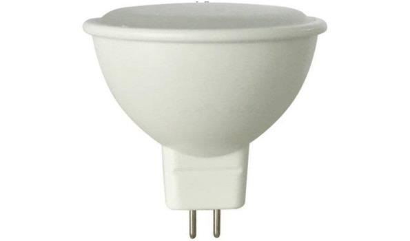 LED lamp MR16, 3 watt, warmwit, 5x
